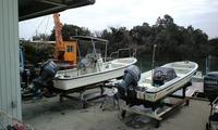 ボート船外機の整備