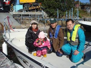 ヤマハベイフィッシャー23進水式 2013年11月