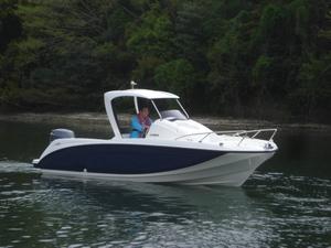SR・X F90PS搭載艇 進水!!