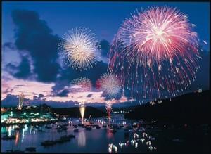 ボートで見に行ける浜名湖花火大会