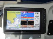 GARMIN GPS/魚探取付け